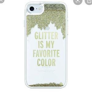Kate Spade NWT Glitter Phone Case Galaxy S8+